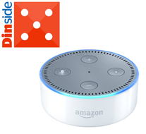 Amazon Echo Dot (2nd Generation) Smarthøyttaler - White (AMAZON-ECHO-DOT-WH)