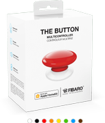 FIBARO The Button Rød for Apple HomeKit