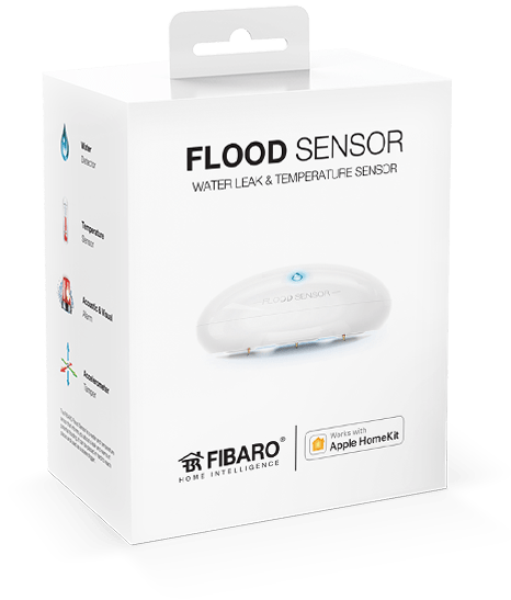 FIBARO Fibaro Flood sensor for Apple HomeKit (9990020)