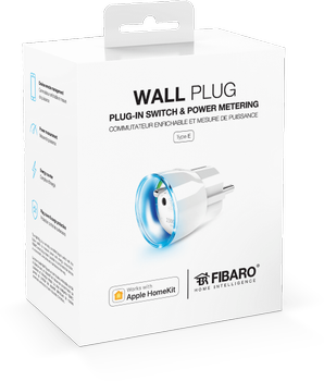 FIBARO Wall Plug for Apple HomeKit (9990039)