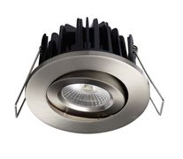 BA Exclusive 8W LED downlight børstet stål
