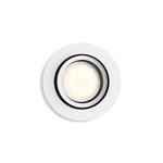 Philips Hue Milliskin Rund Downlight 5, 5W Hvit m/ dimmer (915005425301)