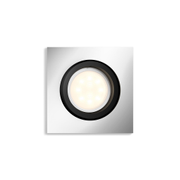 Philips Hue Milliskin Firkantet Downlight 5,5W Alu