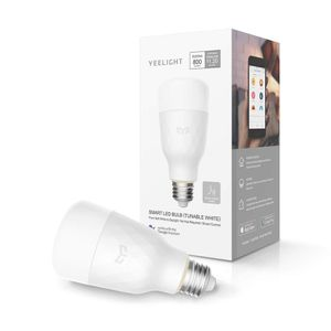 Xiaomi Yeelight Smart LED Bulb Tunable White, 2. gen, 2700K - 6500K, E27, Wi-Fi (YLDP05YL)