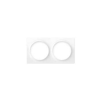FIBARO Walli Double Cover Plate Monteringsramme