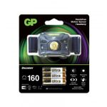 GP Discovery hodelykt, Brightest CH34 160 lumen, 3 x AAA (455020)