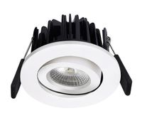 TUNDRA Ibis 8W LED Downlight 2700K IP44 Matt hvit