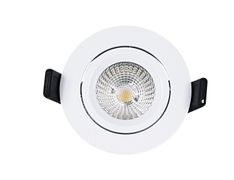 TUNDRA Ibis 8W Zigbee RGBCW LED Downlight IP44 Matt hvit