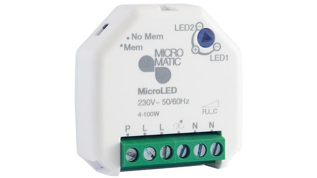 MICROMATIC Dimmer MicroLED 4-100W (1404489)