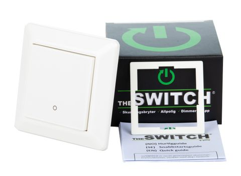 Gylling TheSwitch 2-pol Skumringsbryter/ dimmer Bluetooth (1476490)