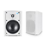 TS Audio model One utendørshøyttalere Hvite, 2x40W, Bluetooth,  IP68 (MODELONE-WH)