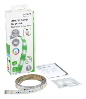 Deltaco Smart Home LED-strip 1m extension (SH-LSEX1M)