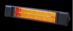 MILL Infrarød Terrassevarmer 2000W m/fjernkontroll ULG+ CB2000BASIC