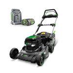 EGO Power+ 50cm gressklipper m/ batteri+hurtiglader (LM2024E-SP)