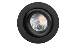 SG Junistar Lux 7W LED 2700K Ra 98 Sort