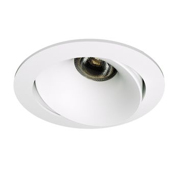 Q-Light Leo Deep 10W Downlight Hvit (3280000)