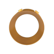Norlux Tania Mini Front Ring Gold