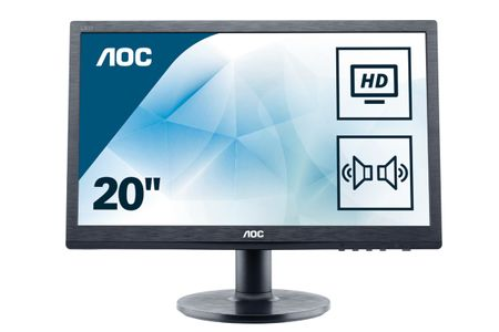 "AOC M2060SWDA2 19.53"" Black Full HD LED (M2060SWDA2)"
