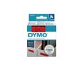 DYMO D1 12mm tape black/red