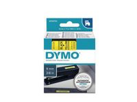 DYMO D1 9mm Tape Black on Yellow (S0720730)