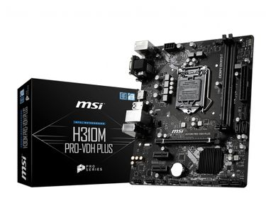 MSI H310M PRO-VDH PLUS - mATX S1151 Coffee Lake (H310M PRO-VDH PLUS)