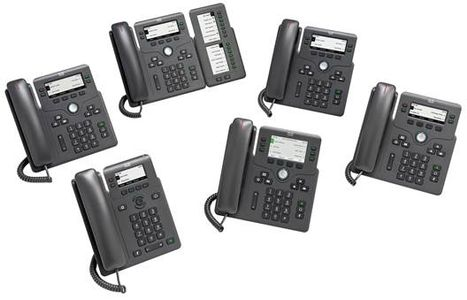 CISCO 6861 Phone with CE power adapter for MPP Systems (CP-6861-3PW-CE-K9=)