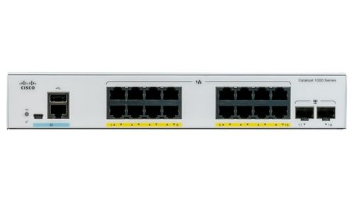 CISCO CATALYST 1000 16PORT GE EXT PS 2X1G SFP                  IN CPNT (C1000-16T-E-2G-L)