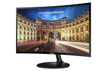 SAMSUNG 24'' C24F390 VA-LED, 4ms, VGA/HDMI Curved (Plan from 2021-03-01) (LC24F390FHRXEN)