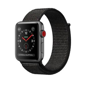APPLE Watch S3 GPSCell 42mm SG Alu Black (MRQH2DH/A)