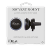 iDEAL OF SWEDEN IDEAL 360 VENT MOUNT (BLACK) (ID360VM-01)