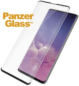 PanzerGlass Samsung Galaxy S10 Fingerprint Case Friendly, Black (7185)