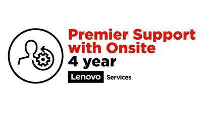 LENOVO 4Y Premier Support with Onsite NBD Upgrade from 3Y Onsite (5WS0V07806)