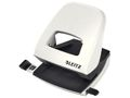 LEITZ Hole Punch 5008 2h/30 sheets Pearl White