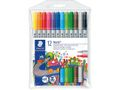 STAEDTLER Filtpenn Noris Club Duo assortert (12)