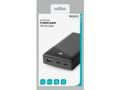 DELTACO power bank 20 000 mAh, 1x USB-C PD, 1x USB-A Fast Charge