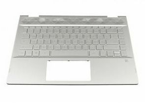 HP Top Cover W Kb Ff Bl Fr (L22407-051)