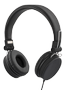 STREETZ headset for smartphone,  microphone,  1-button, 1,5m, black
