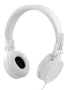 STREETZ headset for smartphone,  microphone,  1-button, 1,5m, white
