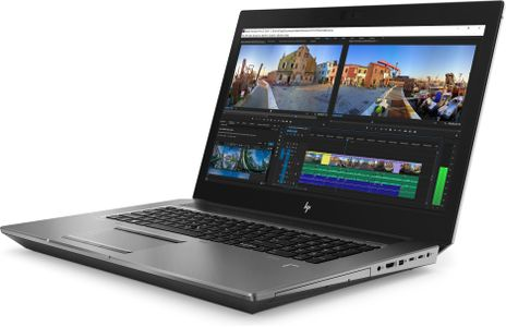 HP i7-8750H 17 G5 / 256GB PCIe NVMe Three Layer Cell / 8GB (1x8GB) DDR4 2666 / No Optical Disc Drive / W10p64 / 17.3 FHD AG LED for HD Webcam ALSensor / NVIDIA Quadro P2000 4GB / WLAN Intel 9560 ac 2x2 n (2ZC44EA#AK8)