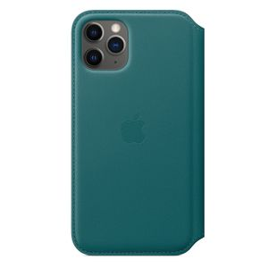 APPLE iPhone 11 Pro Leather Folio - Peacock (MY1M2ZM/A)