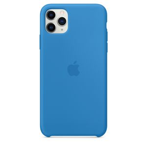 APPLE iPhone 11 Pro Max Silicone Case - Surf Blue (MY1J2ZM/A)