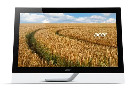 "ACER 27"" LED T272HL (bmidz) 1920x1080,  5ms, 100M:1, 10-point touch, VGA/ DVI/ HDMI (UM.HT2EE.005)"
