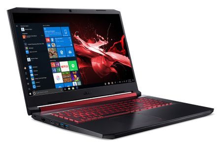 "ACER Nitro 5 AN517-52 17,3"" Full HD 144 Hz GeForce RTX 2060, Core i7-10750H,  16 GB RAM, 1 TB SSD, Windows 10 Home (NH.Q8KED.002)"