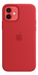 APPLE IPHONE 12 PRO SILICONE CASE WITH MAGSAFE - (PRODUCT)RED (MHL63ZM/A)