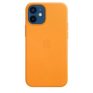APPLE iPhone 12 mini Leather Case with MagSafe - California Poppy (MHK63ZM/A)