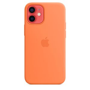 APPLE iPhone 12 mini Silicone Case with MagSafe - Kumquat (MHKN3ZM/A)