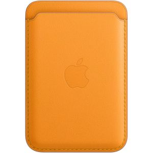 APPLE IPHONE LEATHER WALLET WITH MAGSAFE - CALIFORNIA POPPY (MHLP3ZM/A)