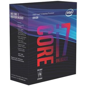 INTEL Core i7 8700K 3,7GHz Socket 1151-2 Box without Cooler (BX80684I78700K)