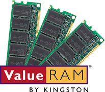 KINGSTON ValueRAM DDR4 PC19200/2400MHz CL17 4GB