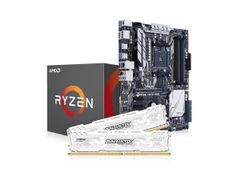 AMD Uppgraderingspaket - Ryzen 1700 8-core 3 GHz, Asus AM4 Prime X370-PRO, 16GB DDR4 2400 MHz